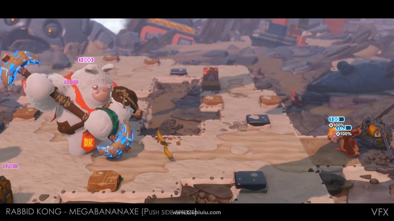 Boss VFX - Mario   Rabbids Kingdom Battle - Donkey Kong Adventure.mp4_20190212_1.jpg