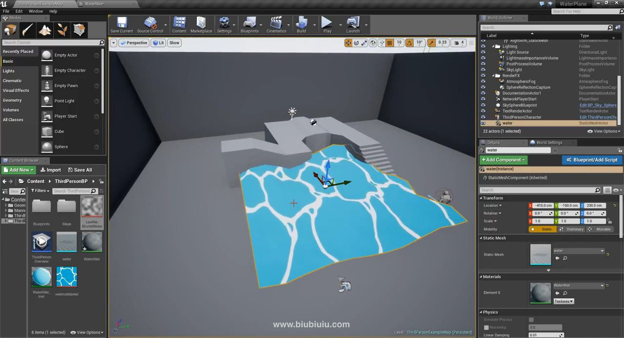 Unreal Engine - Toon Water Shader.mp4_20190418_091318.461.jpg