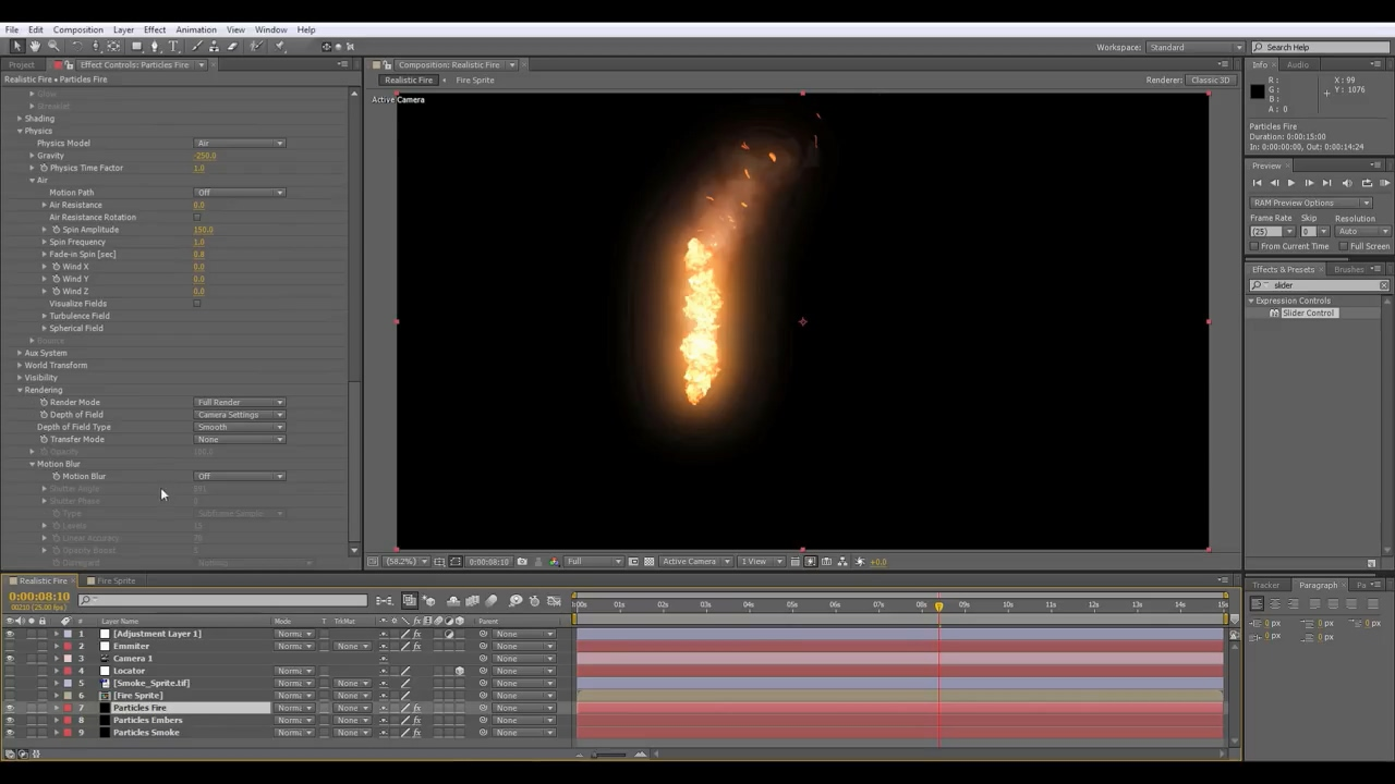 After Effects Tutorial_ Animated Fire - Trapcode Particular.mp4_20190613_142448.743.jpg