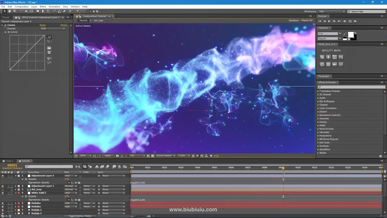 Advanced Particular Space Scene - After Effects Tutorial (Trapcode Particular).m.jpg