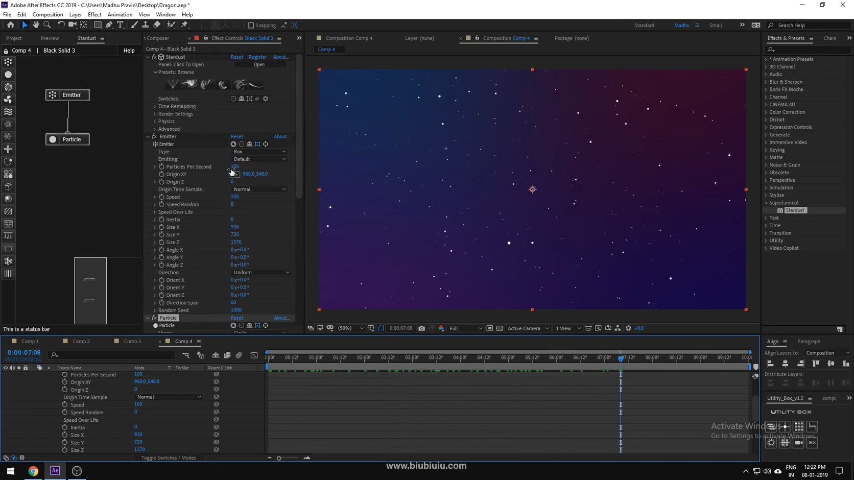 After effects Dragon effects - Stardust Tutorial.mp4_20200101_194451.266.jpg
