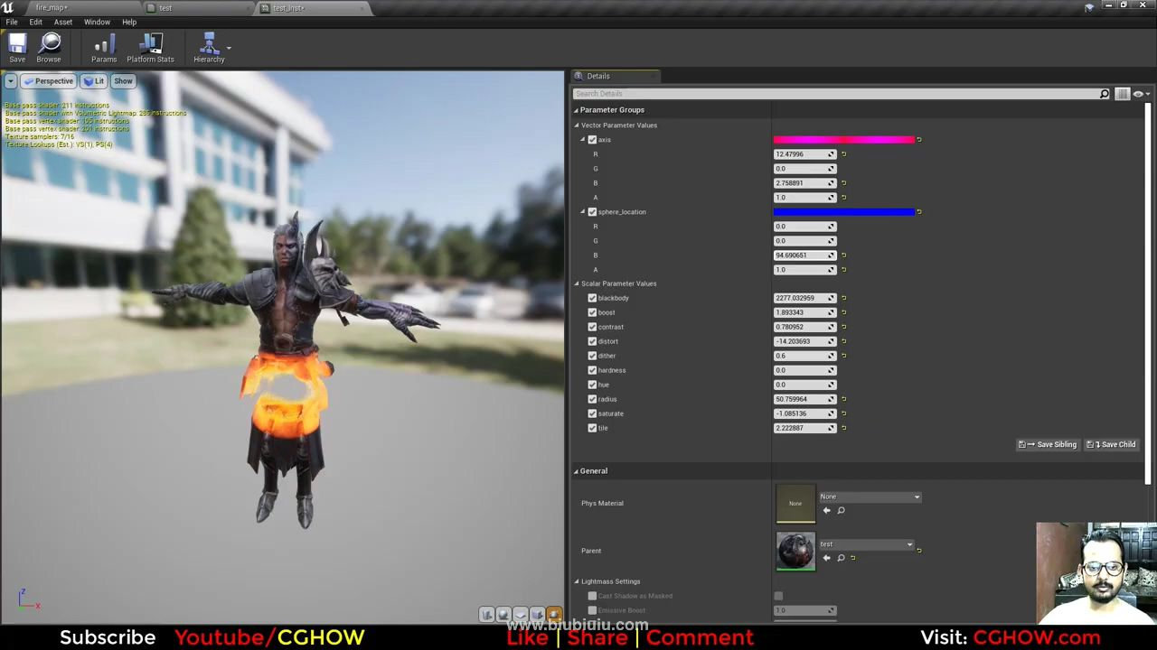 Firy Dissolve Effect in Unreal Engine Material Editor.mp4_20200810_114156.554.jpg