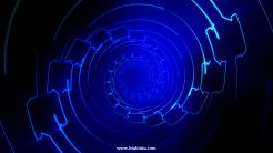 科幻时光隧道高清1080p素材