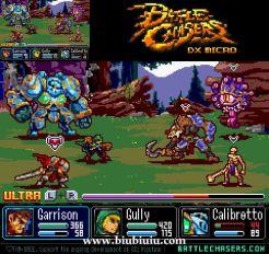 Battle Chasers像素风格