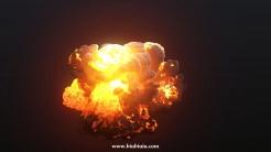 火焰爆炸高清视频素材
